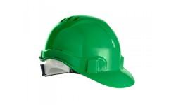 Строительная каска светло-зеленая