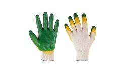 Хлопчатобумажные перчатки облитые ПВХ