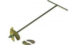 Бур садовый со сменными ножами (L — 1000 мм)