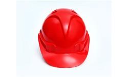 Строительная красная каска