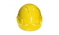 Строительная желтая каска